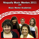 Front of the  Nisqually Music Mentor Group.